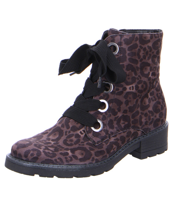 <strong>Ara</strong><br>Animal print ankle boots<br>£95