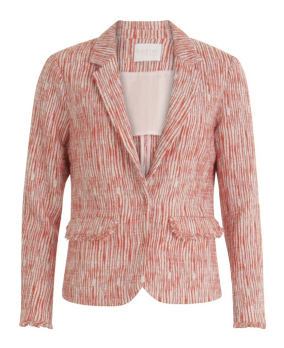<strong>Coster Copenhagen</strong><br>Boucle Suit Jacket<br>£169
